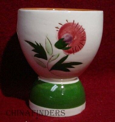 """STANGL china THISTLE pattern Double Egg Cup - 3-1/4"""""""
