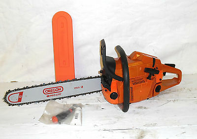 "18"" Petrol Chainsaw 65 cc Oregon bar & Chain 365 husqvarna cover and tool kit"