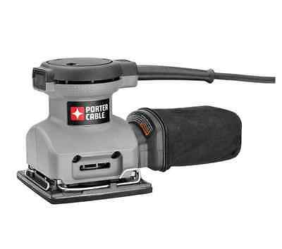 NEW Porter Cable Orbital Sander 2-Amp Corded Electric Finish Palm 1/4 Sheet Tool