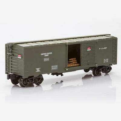 U.S. Army Military Railroad Boxcar with Shells O-Gauge Limited Edition