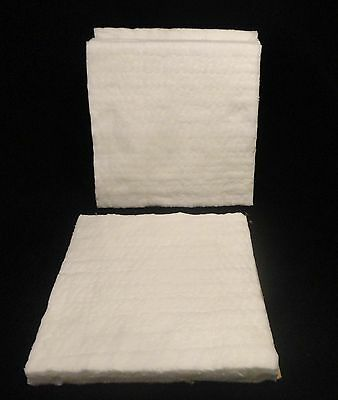 """TAOFIBRE HIGH PURITY THERMAL INSULATION BLANKET 12"""" x 12"""" x 1"""" THICK  No. 307"""