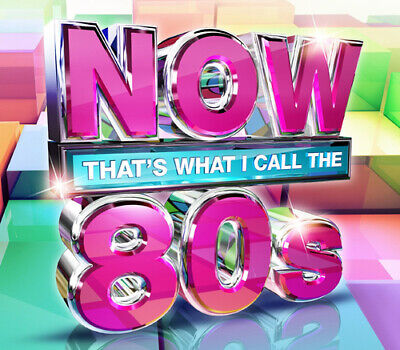 Various Artists : Now That's What I Call the 80s CD 3 discs (2015) Amazing Value
