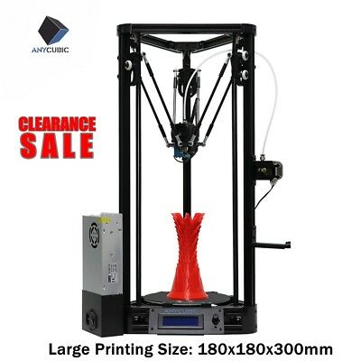 Anycubic 2017 Kossel 3D Printer Linear Guide Rail Version unassemble DIY Delta