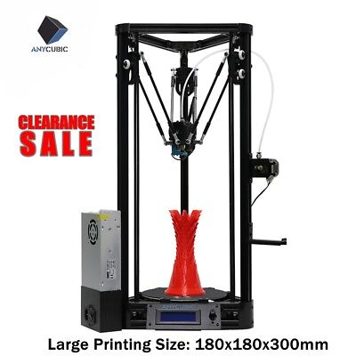Anycubic Newest Linear Version DIY full Self-assembly Kossel 3D Printer DIY