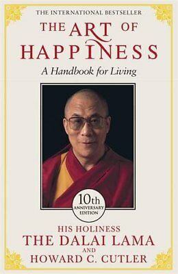The Art of Happiness: A Handbook for Living by Cutler, Howard Paperback Book The