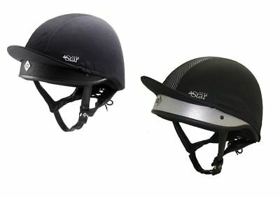 Charles Owen 4 Star Riding Hat Helmet - PAS 015 and ASTM F1163 and Snell E2001