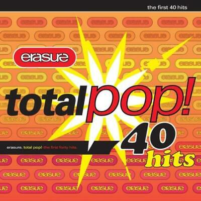 Erasure : Total Pop! - The First 40 Hits CD 2 discs (2009) Fast and FREE P & P