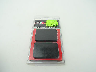 Lizard Skins Carbon Leather Frame Patch - Black