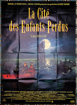 1995 THE CITY OF LOST CHILDREN JP Jeunet SCi-Fi 47x63 french film poster