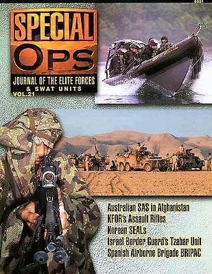 Special Ops Journal of the Elite Forces & Swat Units Volume 21 by Concord