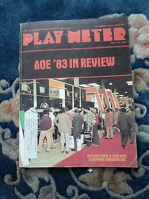 coin-op Amusements may 15 1983 Play Meter MAGAZINE: A0E'83 IN REVIEW
