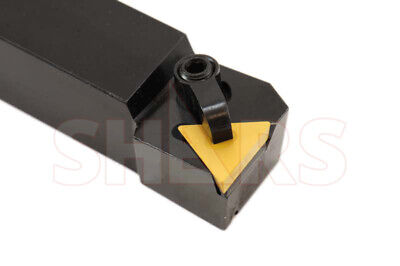 "Shars 3/4"" X 4-1/2"" Lh Left Hand Ctfp Indexable Turning Tool Holder Tpg New"
