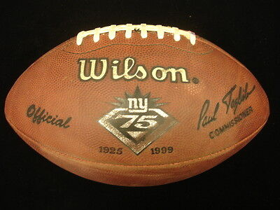 1999 Game Used Football – New York Giants 75th Anniversary