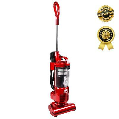 New Effison Cyclonic Upright VACUUM CLEANER Bagless Cyclone HEPA Filter Red