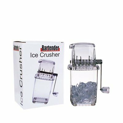 NEW Bartender Ice Crusher White