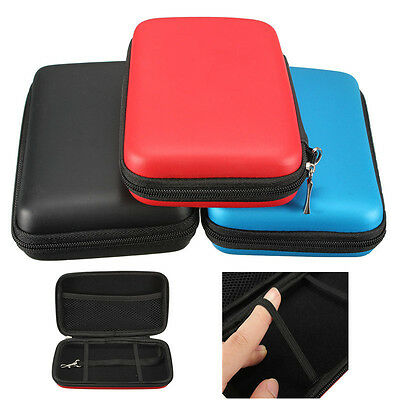 EVA Skin Carry Hard Zip Case Protective Bag Pouch Sleeve for Nintendo 3DS XL New