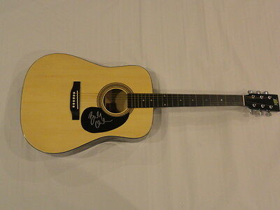 Brandy Clark Signed Full-Size Natural Acoustic Guitar Country Cma Exact Proof