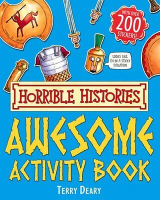 Awesome Activity Book (Horrible Histories) By Terry Deary, Martin Brown