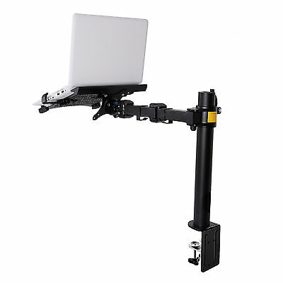 "Fleximounts Laptop Stand LCD Arm Desk Mount Holder fits for 11""-15.6"" Notebook"