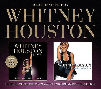 Whitney Houston : Live: Her Greatest Performances/The Ultimate Collection CD