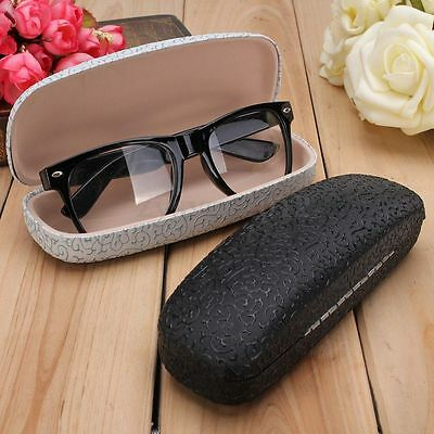 Spectacle Eye Glasses Hard Case Sunglasses Eyeglasses Box Clamp Eyewear Reader