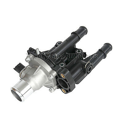 New Thermostat+Housing+Senso For Vauxhall Astra Zafira Vectra Signum MK5 1.6 1.8