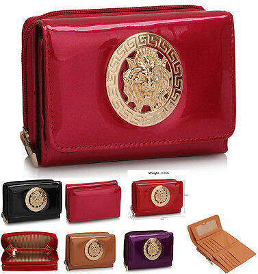 Ladies Small Purse Wallets Coin Bag Women's Fashion Patent Designer StyleClutch