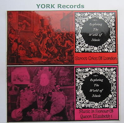 EXP 31 - STREET CRIES OF LONDON / MUSIC IN HONOUR OF ELIZABETH I - Ex LP Record