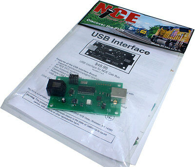 NCE 524-223 USB Computer Interface for Power Cab DCC