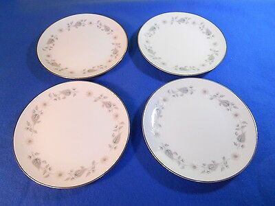 "Noritake China ""Wellesley"" Lot of 4 Bread and Butter Plates - 6214"
