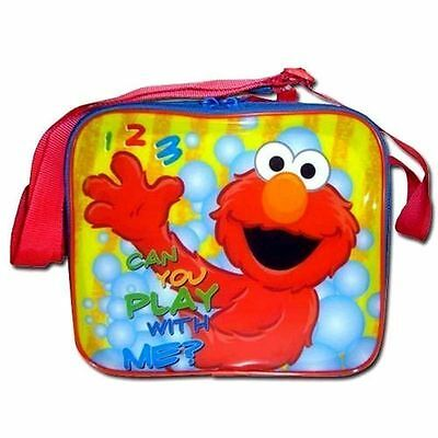 Lunch Bag Insulated + Shoulder Strap Sesame Street Elmo NEW