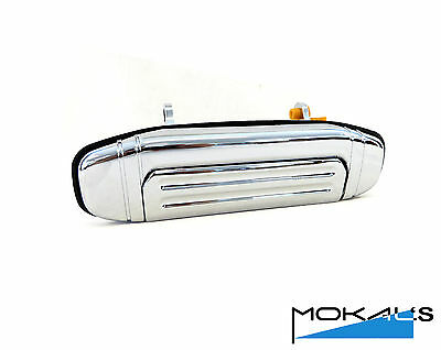 mitsubishi Pajero NL Outer Door Handle (Chrome) Left side front 1991-2000