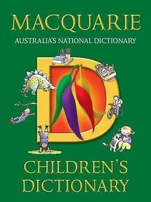 NEW The Macquarie Children's Dictionary By Macquarie Dictionary Paperback