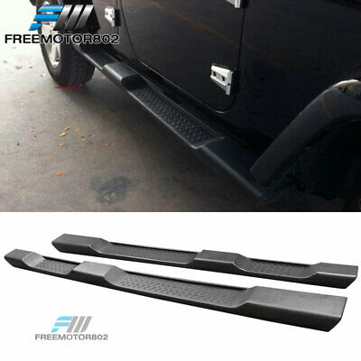 Fit 07-17 Jeep Wrangler JKU 4Dr OE Style Unlimited Running Board Step Nerf Bar