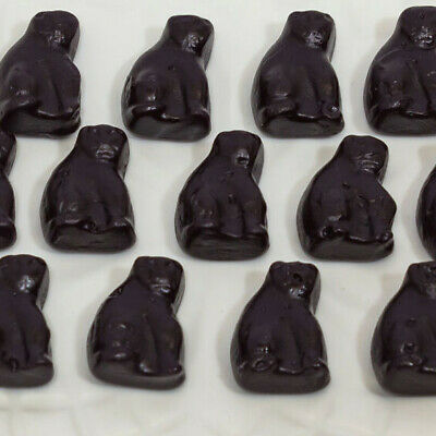 BLACK CATS  -  1KG  -  ALLSEPS - Aniseed Flavoured Lollies