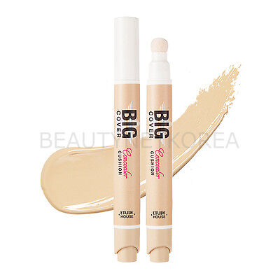 [ETUDE HOUSE] Big Cover Cushion Concealer [SPF30/PA++] 6 Color 5g // 2016 New
