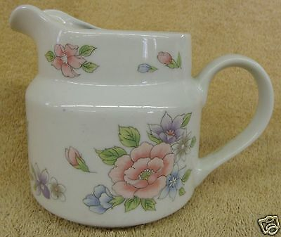 """Vintage Collectible F.T.D.A Hand Painted Coffee Creamer 5"""" Tall Good Condition"""