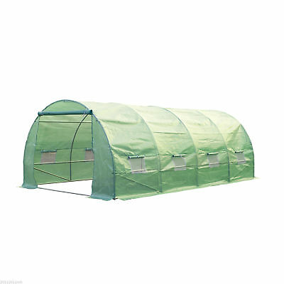 20' x10' x 7' Walk-In Greenhouse Garden Plant Shed Heavy Duty Frame Portable