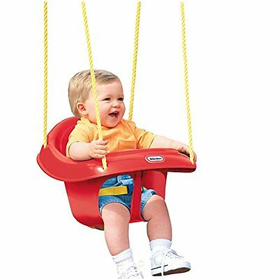 Little Tikes High Back Toddler Swing Adjustable seat belt and molded center  XTS