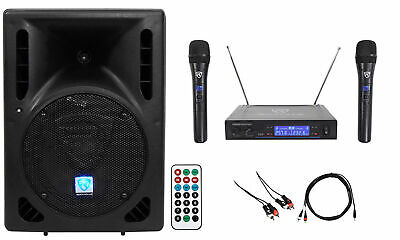 "Rockville Powered 8"" Android/ipad/iphone/Laptop/T.V. Karaoke Machine/System"