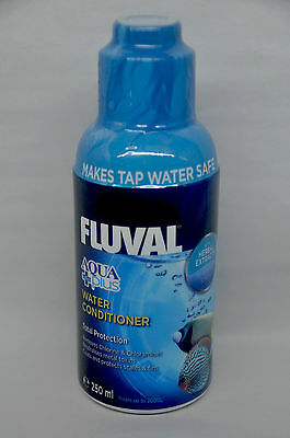 Fluval Aqua Plus Water Conditioner 250 ml, Aquarium Fish tank Safe tap water