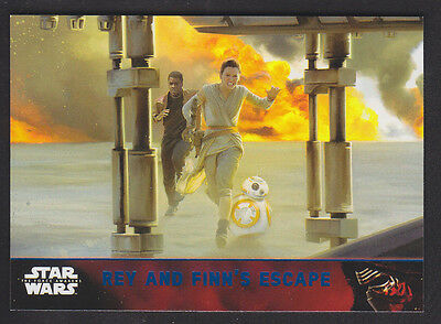 Topps Star Wars - The Force Awakens - Blue Parallel Card # 90