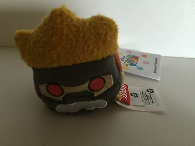 disney usa guardians of the galaxy star lord tsum mini plush new with tags