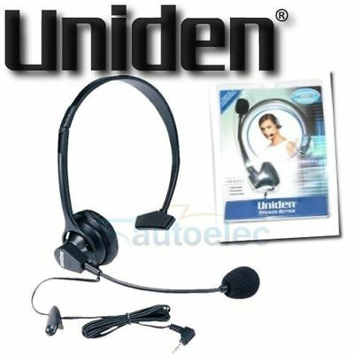 Uniden Panasonic Genuine Original Corded Headset For Cordless Phone 2.5Mm Jack