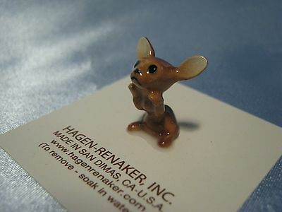 Hagen Renaker Dog Chihuahua Brown Pup Figurine Miniature 03381 FREE SHIPPING NEW