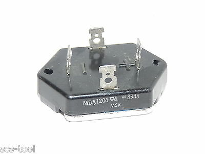 2x Motorola MD1204 12 a amp 400 V volt  Full Wave Bridge Rectifier Diode