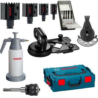 Bosch Diamant Fliesenleger-Set 13 tlg. Diamond for Hard Ceramics , inkl. L-Boxx