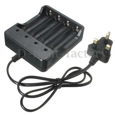 4.2V 1200MA Universal Battery Charger For 1-4 18650 Li-ion Rechargeable Battery