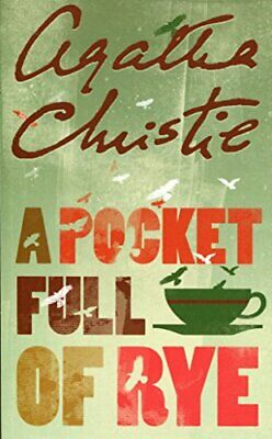 A Pocket Full of Rye (Miss Marple) by Christie, Agatha Paperback Book The Cheap