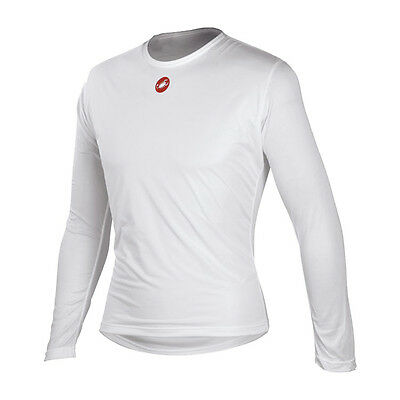 Castelli Winter Men's Base Layer Long Sleeve White Size L